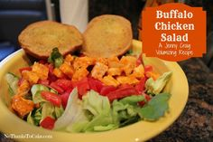 Jenny Craig Recipe Creation: Buffalo Chicken Salad - No Thanks to Cake