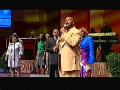 """Byron Cage Karen Clark-Sheard and Pastor Marvin L. Winans singing """"Lord You Are My Everything"""""""