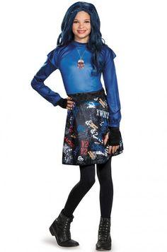 Evie Isle Of The Lost Classic Child Costume #disney #descendants #Halloween #costumes