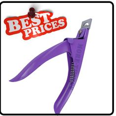 Nail Clipper Purple Color Acrylic UV Gel False Tips Cutter Nail Tips Best Price | eBay