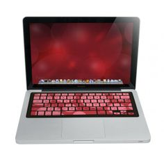 iSkin ProTouch Keyboard Cover - Red - Jump+ Online Store Keyboard Cover, Store, Red, Christmas, Xmas, Larger, Navidad, Noel, Natal