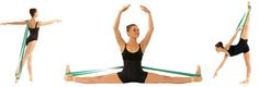 Balletband. Hands free stretching and strengthening allows for the proper alignment essential to all dancers. Good stuff.