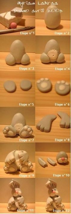 Tutorial - Cute bunny - For all your cake decorating supplies, please visit craftcompany.co.uk