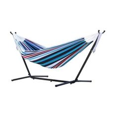 Vivere's Combo, the Double Hammock with Stand and Carry Bag is our top choice for combos. The double hammock is tightly woven with high quality cotton thread resulting in a heavy, durable fabric. The hammock stand is constructed of heavy duty steel a Backyard Hammock, Indoor Hammock, Hammocks, Camping Hammock, Outdoor Camping, Hammock Stand, Hammock Bed, Amazon Sale, Tutorials