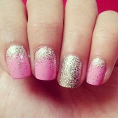 love these! except i might do them with a gold glitter instead.