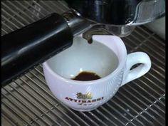 Caffè Attibassi: training video for professional baristas - Making a good espresso - the golden rules to remember to make the perfect espresso