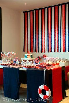 decoracion fiesta marinera