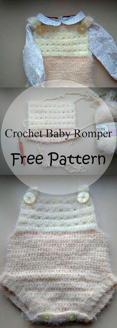 Crochet Baby Romper Jumpsuit | Turtle Whicky Crochet | Home