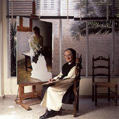 Vive, que no es poco.: Isabel Guerra, la monja pintora