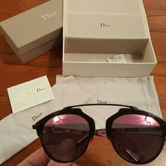 1be031b04f8e Dior So Real Dior So Real sunglasses in Black and Pink Dior Accessories  Glasses