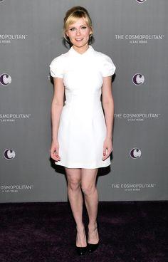 Kirsten Dunst wearing Miu Miu