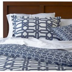 Mercury Row Trellis Duvet Cover Set