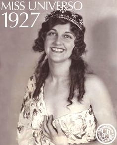 MISS UNIVERSE 1927 / THE EARLY YEARS