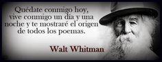 Tal día como hoy, pero en en 1892, muere Walt Whitman: