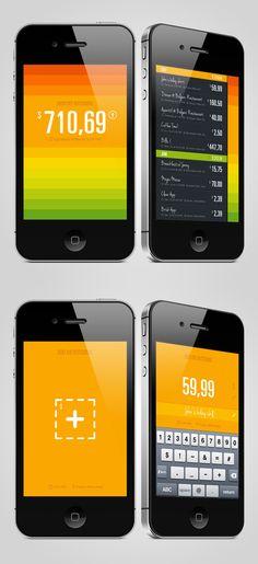 Balance App by Enzo Li Volti, via Behance