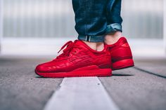 ASICS' Gel-Lyte III Is Next in Line to Receive the All-Red Treatment