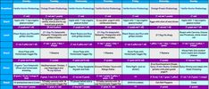 21 Day Fix Week Long Meal Plan (1200 Calories) with recipes  #21dayfix