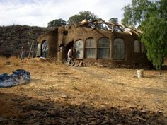 cob houses | cob house is usually built in the following manner: