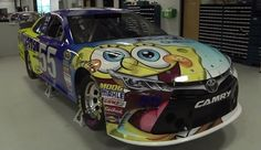 NASCAR and SpongeBob SquarePants It Just Makes Sense
