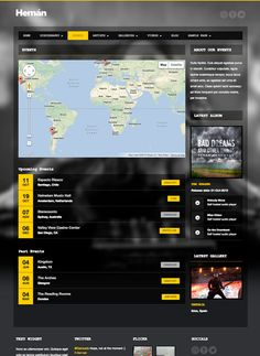 Hernán is a responsive WordPress theme for DJs, music artists, bands, radio stations and everyone in the music business.