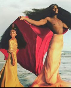 This father-daughter duo has mesmerized the world before. Benny Harlem, an aspiring singer, songwriter and model, started the year off with an impressive record to his name. African Hairstyles, Afro Hairstyles, Benny Harlem, Father And Daughter Love, Curly Hair Styles, Natural Hair Styles, Lgbt, Poster S, My Black Is Beautiful