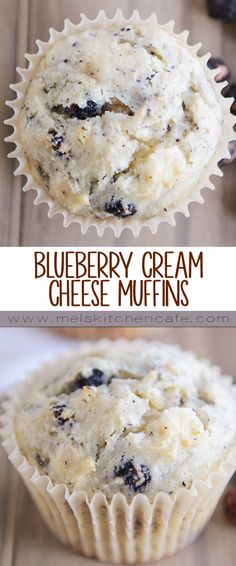 Who knew that blueberry muffins would be a million times better with cream cheese? These simple blueberry cream cheese muffins are spectacular.