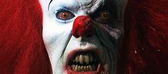 """Après avoir traumatisé plus d'une génération, le clown de """"Ça"""" (Stephen King) revient dans une adaptation sur nos grands écrans en 2015 !"""