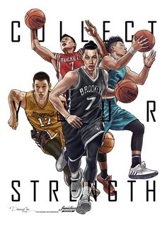 Collect your strength  #Jeremy Lin