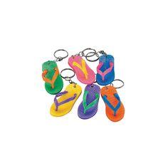 Flip Flop Key Chains - OrientalTrading.com