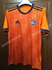16df2c541 2018-19 Olympique Lyonnais 2nd Away Orange Thailand Soccer Jersey AAA