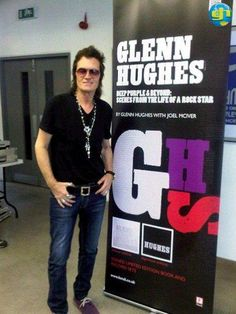 @glennhughes MAY 12TH, 2011 @ the launch of his #Autobiography in London, UK.