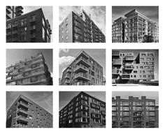 En haut: Londres (Nine Elms), Oslo (Fjord City), Helsinki (Jätkäsaari). Au milieu: Stockholm (Royal Seaport), Copenhague (Nordhavnen), Hamburg (HafenCity). En bas: Oslo (Fjord City), Helsinki (Kalasatama), Oslo (Fjord City) | Luca Picardi