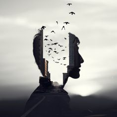 Double Exposure - Photoshop Action by GraphixRiver