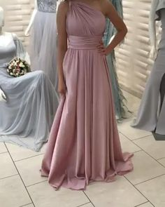 One Shoulder Formal Dresses Prom Dresses Wedding Party Dresses One Shoulder Formal Dresses, One Shoulder Prom Dress, Wedding Party Dresses, Bridesmaid Dresses, Prom Dresses, Pretty Homecoming Dresses, Godmother Dress, Gowns Of Elegance, Quinceanera Dresses