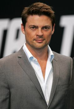 Karl Urban (Star Trek) - I liked him in his Xena and Hercules roles as Cupid, Caesar, and a few other characters, and he's a great Dr. McCoy :o}