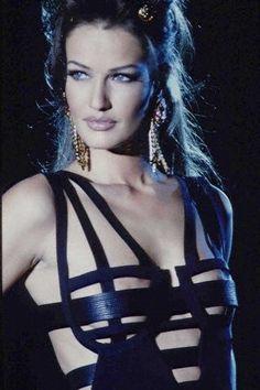 1992 Karen Mulder for Versace