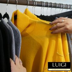 Our #fasion #boutique in #Haslemere is full of [beautiful striking colourful] pieces. Pop in to #Luigi to discover your new favourite shop.