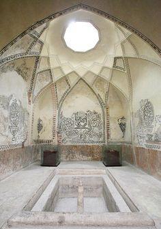Bathhouse near Bazaar Vakil in Shiraz, Iran
