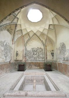 Bathhouse near Bazaar Vakil in Shiraz, Iran