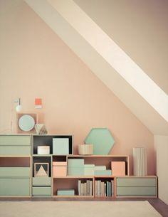 Beautiful Pastel Interiors