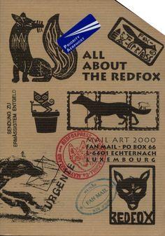 Fanzines / Artzines - Le Garage L. www.garage-l.fr All About The Redfox