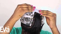 How to do a quick weave mold and how to do a quick weave with invisible ...