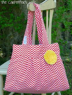 Red & White Chevron!!