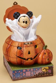The Collectors Hub - Jim Shore Mickey Mouse Jack-o-Lantern, $59.95 (http://www.thecollectorshub.com/jim-shore-mickey-mouse-jack-o-lantern/)