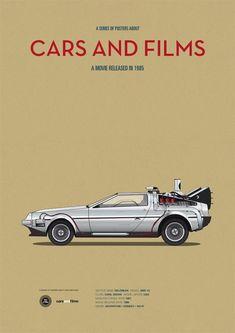 cars and films - de volta para o futuro