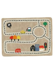 Tortuga caricatura lindo beb de dibujos animados - Alfombra circuito coches ...
