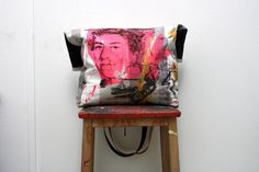 La vie en rose Extra large tote bag with original by XOproject