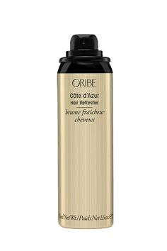 If you've gone more days without washing your hair than you'd like to admit, a few spritzes of this refreshing formula will leave your 'do smelling freshly shampooed thanks to its divine amber extracts. Oribe Côte d'Azur Hair Refresher, $24; birchbox.com.   - MarieClaire.com