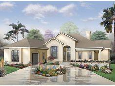 Carnegie Bay Sunbelt Home  from houseplansandmore.com