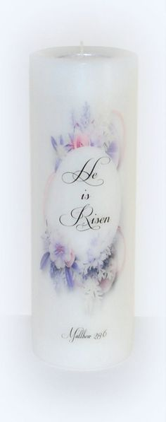 Easter candle Easter celebration celebration by DesignsbyDMCandles